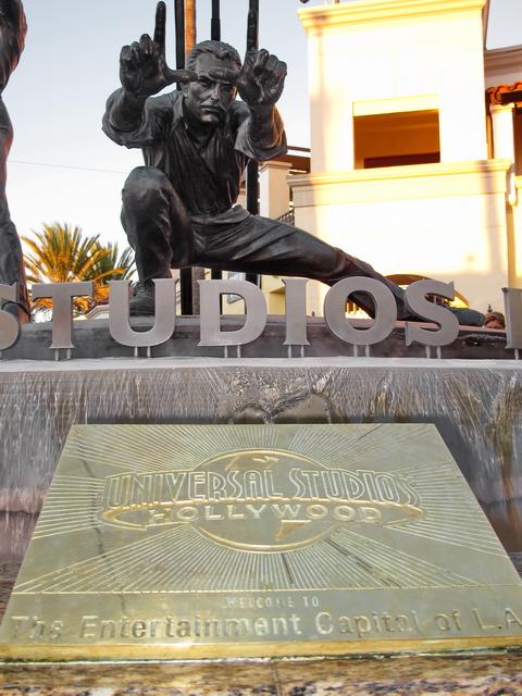Entrada a los Universal Studios