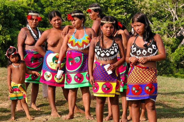 Mujeres Embera 2