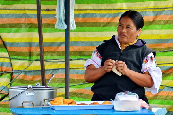 Mercado 24 de mayo de Otavalo