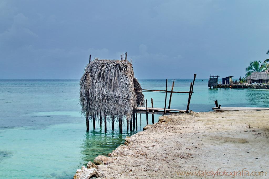 "Retrete comunitario y ""ecológico"". San Blas. Guna Yala. viajesyfotografia 10"